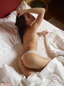 Petter Hegre - Caprice White Panties 9