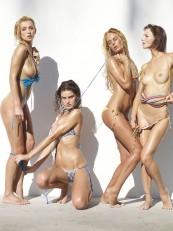 Coxy Flora Thea Zaika Hegre Bikini Battle2