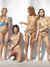Coxy Flora Thea Zaika Hegre Bikini Battle3