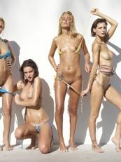 Coxy Flora Thea Zaika Hegre Bikini Battle4