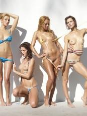 Coxy Flora Thea Zaika Hegre Bikini Battle5
