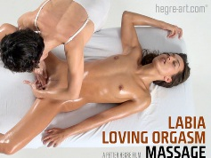 Labia Loving Orgasm Massage - Hegreart video