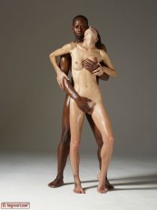 Hegre ModelS Flora and Mike Body Sculpting 03