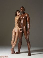 Hegre ModelS Flora and Mike Body Sculpting 08