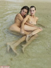 Flora and Zaika Sex in the Sea by Petter Hegre 06