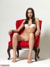 Elvira Red Chair Part1 Hegre art beauties 02