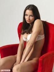 Elvira Red Chair Part1 Hegre art beauties 03