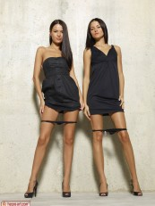 Hegre beauties Gloria And Nicole Black Dresses 04
