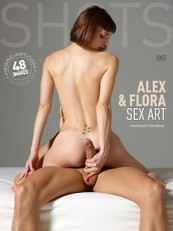 Alex And Flora Sex Art by Petter Hegre