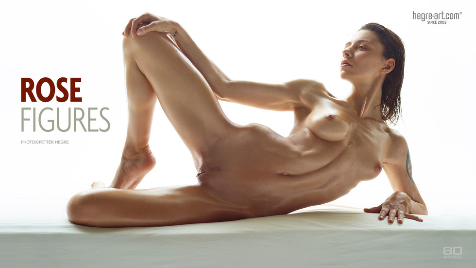 Rose Figures nude poster