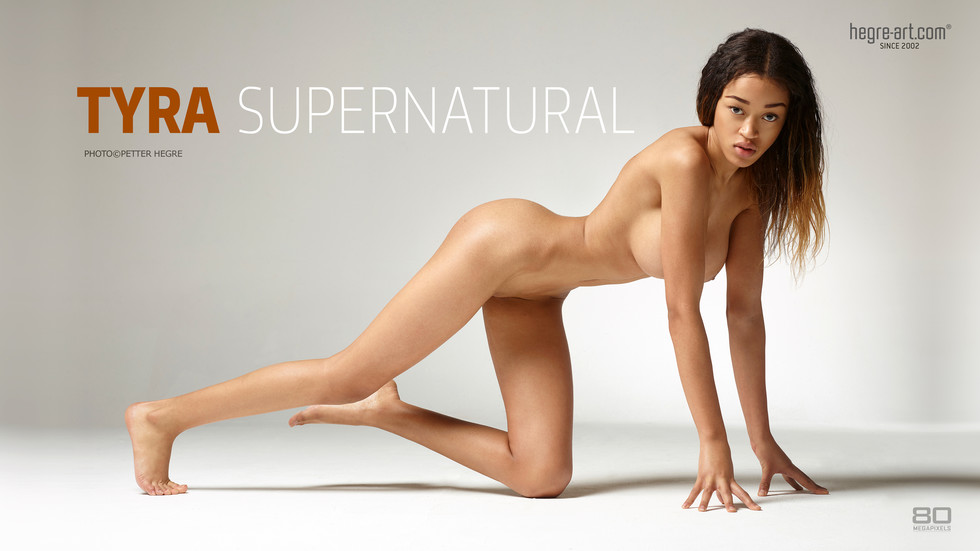 Tyra Super Natural erotic poster