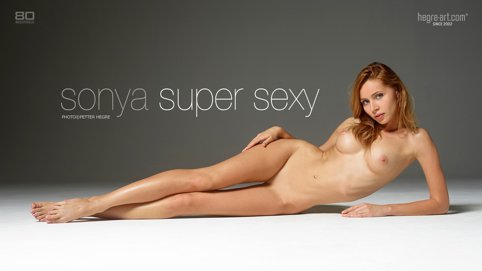 SonyaSuperSexy-hegre gallery poster