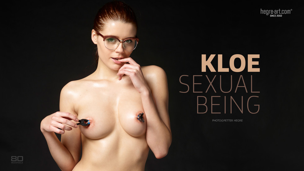 Kloe Sexual Being  photo Petter Hegre