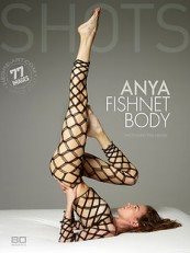 HegreArt Anya Fishnet Body photo set cover