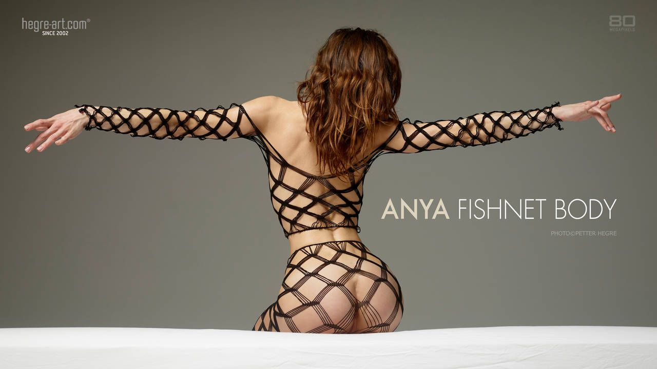 HegreArt Anya Fishnet Body photo