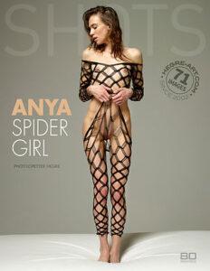 Anya Spide Girl Hegreart cover