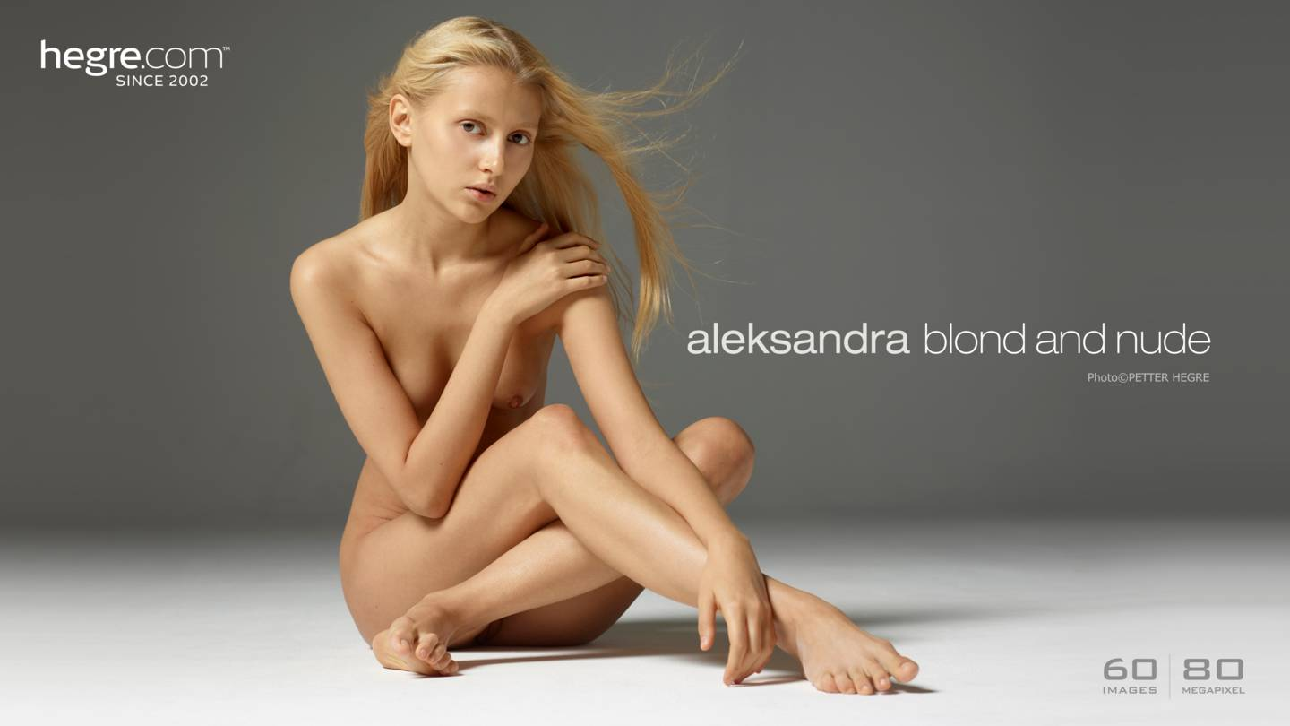 aleksandra-blond-and-nude-hegre photos