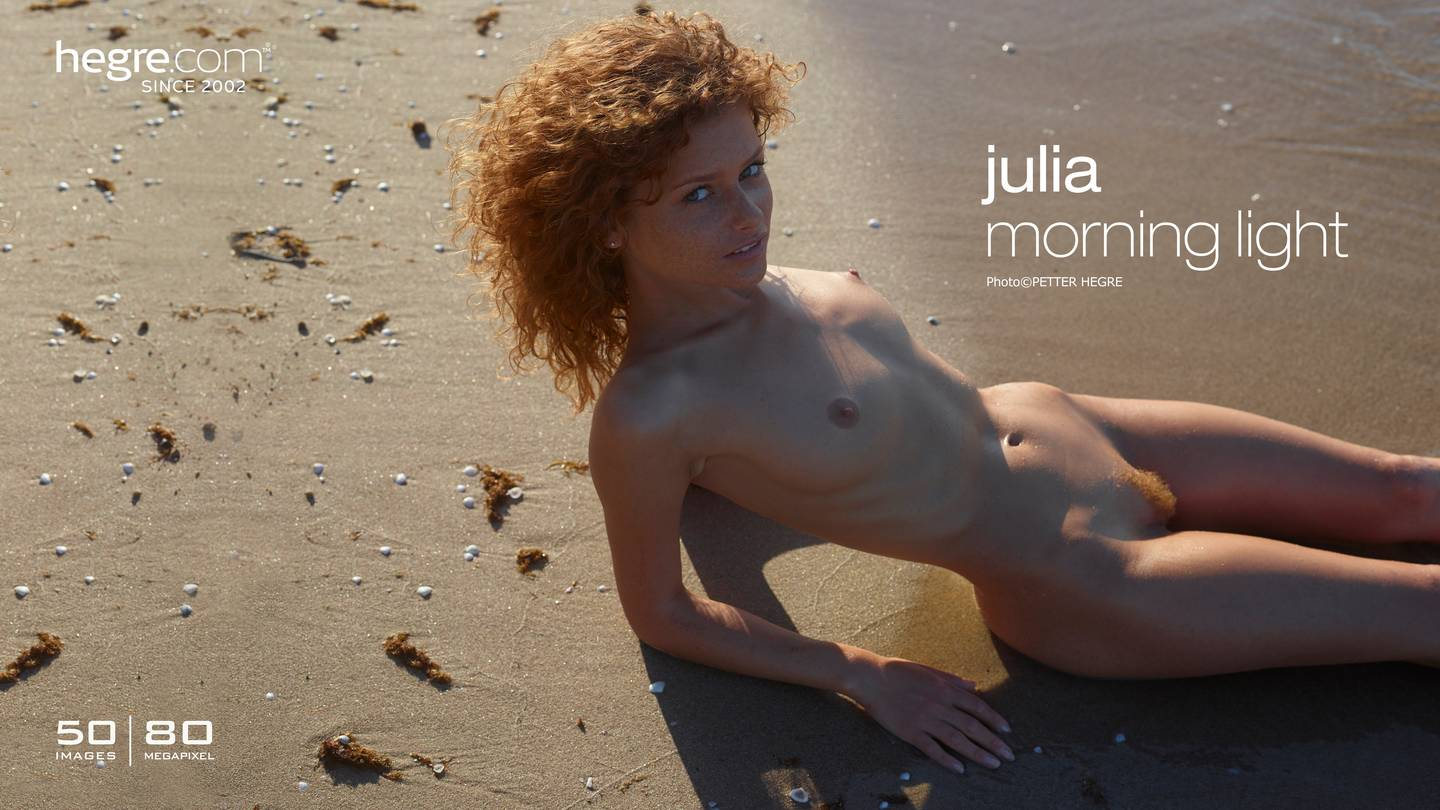 julia-morning-light-hegre poster