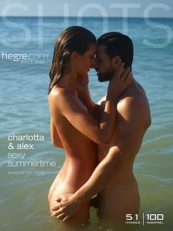 Hegre – Charlotta and Alex sexy summertime
