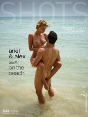 Hegreart – Ariel and Alex sex on the beach