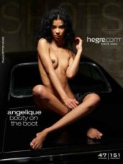 Hegre.com Angelique booty on the boot