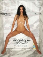Hegre.com Angelique shower scene