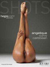 Hegre.com Angelique curvy Caribbean