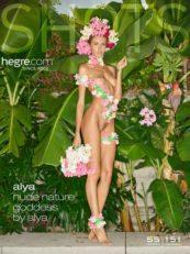 Hegre.com – Alya nude nature goddess by Alya