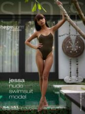 Hegre.com – Jessa nude swimsuit model