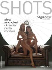 Hegre.com – Alya and Oksi Ukrainian nude models