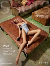 Hegre.com – Alya naked swimsuit model
